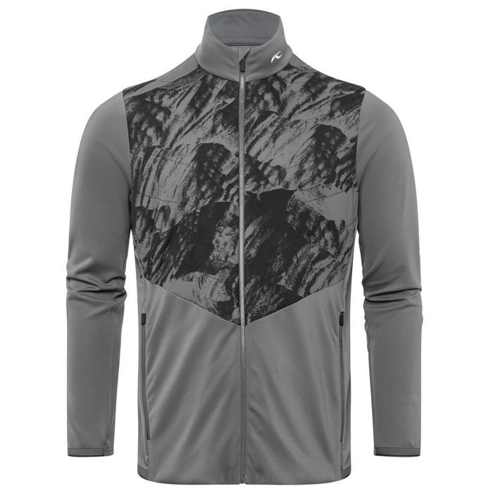 Men Release Printed Jacket